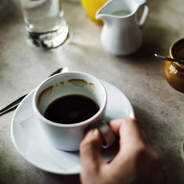 Kaffe på maten